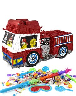 Fire Engine Piñata Kit - SAVE OVER 10%