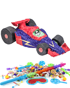 Racing Car Piñata Kit