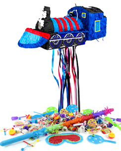 Train Pull Piñata Kit - SAVE OVER 10%