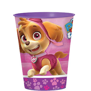 Pink Paw Patrol Favour Cup