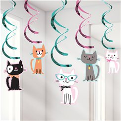 Purr-fect Party Dizzy Danglers - 99cm