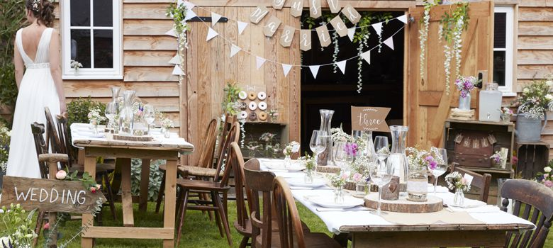 Rustic Country Wedding Supplies