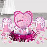 Girl's Shower With Love Table Decorating Kit