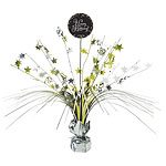Gold Sparkling Celebration Happy Birthday Centrepiece - Table Decoration