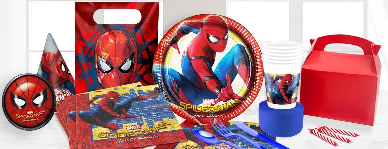 spider man party supplies woodies party