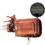 "The Force Awakens Good Characters Supershape Balloon - 35"" Foil"