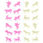 Unicorn Glow in Dark Stickers