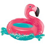 "Floating Flamingo Supershape Balloon - 30"" Foil"