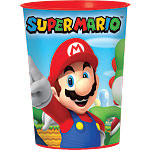 Super Mario Plastic Favour Cup - 473ml