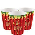 TNT Party - 255ml Paper Party Cups