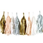 Blush Tassel Garland Decoration - 3m