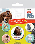 The Secret Life Of Pets Badges