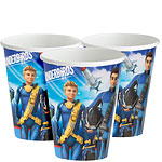 Thunderbirds Paper Cups - 200ml