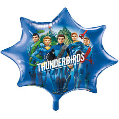 "Thunderbirds Supershape Balloon - 28"" Foil"