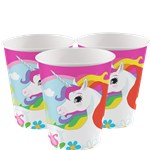 Unicorn Cups - 266ml Paper Party Cups