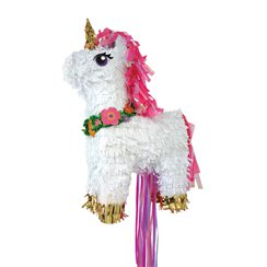 Unicorn Pull Piñata - 46cm tall