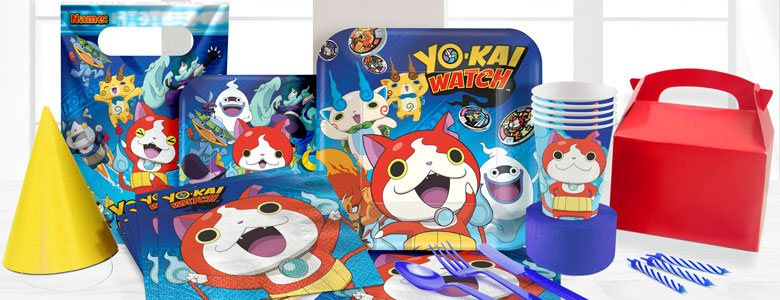 Yo-Kai Watch Party Supplies
