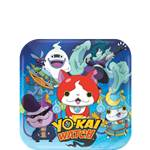 Yo-Kai Watch Dessert Plates - 18cm Paper Party Plates