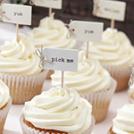A Vintage Affair - Cupcake Picks