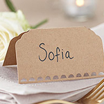 A Vintage Affair Wedding Place Cards