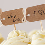 A Vintage Affair - Brown Label Cupcake Picks