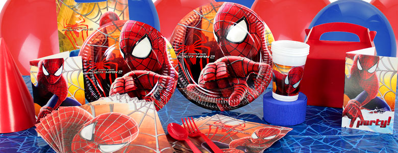 The Amazing Spider Man 2 Party Supplies Party Delights