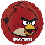 "Angry Birds Red Balloon - 18"" Foil"
