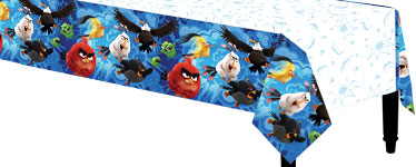 Angry Birds Party Angry Birds Plastic Tablecover