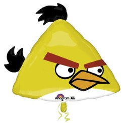 "Angry Birds Yellow Balloon - 23"" Foil"