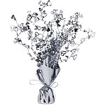 Silver Heart Spray Table Centrepiece - 30cm