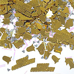 50th Anniversary Gold Table/Invite Confetti