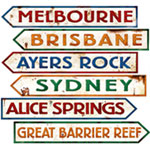 Australian Sign Cutouts