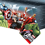 Avengers Plastic Tablecover - 1.2m x 1.8m