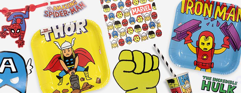 Avengers Pop Comic Party Supplies