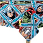 Mighty Avengers Plastic Tablecover - 1.8m