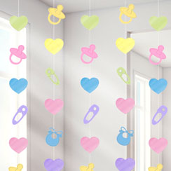 Baby shower decorations party delights for Baby shower decoration cutouts