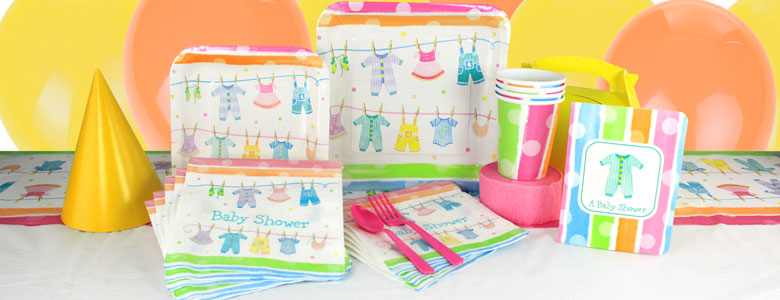 baby clothes baby shower party supplies from party delights
