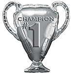 "Champion Trophy Balloon - 28"" Foil"