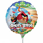 "Angry Birds Mini Airfilled Balloon - 9"" Foil"