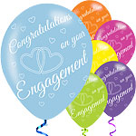 Engagement Balloons - 11'' Latex