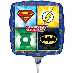 "Justice League Mini Airfilled Balloon - 9"" Foil"