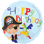 "Little Pirate Balloon - 18"" Foil"
