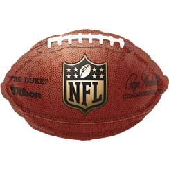 "NFL Football Foil Balloon - 17"" Foil"