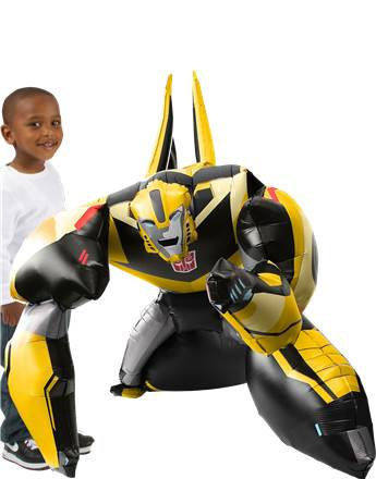 "Transformers Bumble Bee Airwalker Balloon - 47"" Foil"