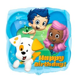 "Bubble Guppies Balloon - 18"" Foil"