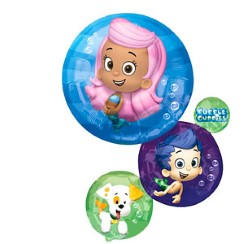 "Bubble Guppies Balloon - 28"" Foil"