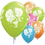 "Bubble Guppies Balloons - 11"" Latex"