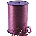 Burgundy Curling Balloon Ribbon - 500m