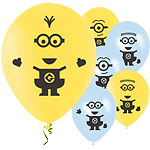 "Minions Balloons - 11"" Latex"