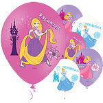 Disney Princess Balloons - 11'' Latex